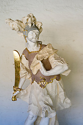 Statue in Simeonstift Museum in Trier Rhineland-Palatinate Germany