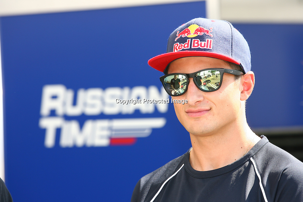 Mitch Evans ahead of round 7 of the GP2 Motorsport event at Hungaroring, Budapest, Hungary, 24 July 2014. Photo: Paolo Pellegrini/www.photosport.co.nz
