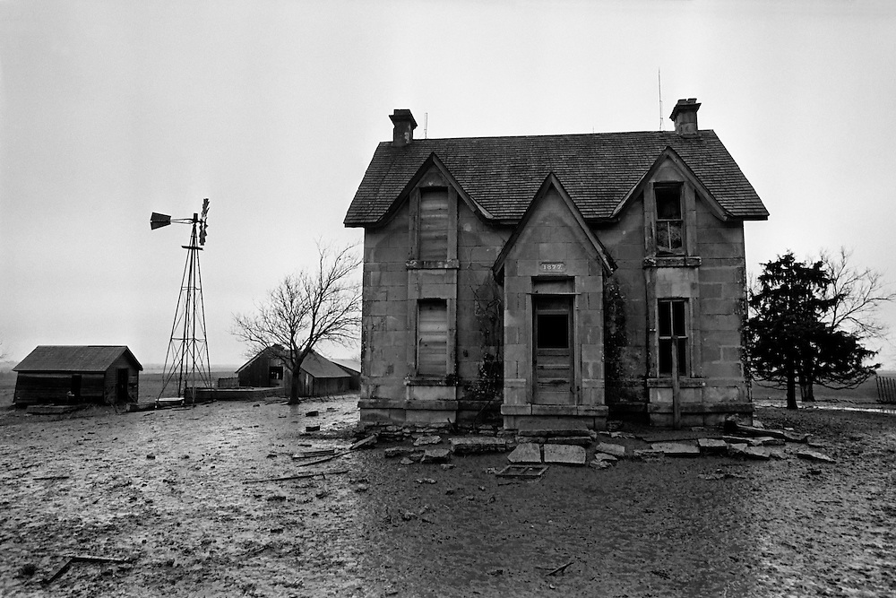 Abandoned House near Belleville, Kansas