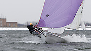 ENGLAND, London, Queen Mary Sailing Club, January 9th 2010, Bloody Mary Pursuit Race, RS 400 1210, Jim Downer and Jon Price, (Royal Victoria YC)