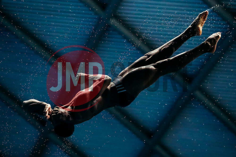 Yona Knight-Wisdom from City of Leeds Diving Club and Jamaica (Guest) competes in the Mens 3m Springboard Final - Mandatory byline: Rogan Thomson/JMP - 11/06/2016 - DIVING - Ponds Forge - Sheffield, England - British Diving Championships 2016 Day 2.