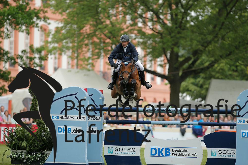 Wulschner, Holger, BSC Cha Cha Cha<br /> Wiesbaden - Pfingstturnier 2015<br /> Qualifikation Riders Tour<br /> © www.sportfotos-lafrentz.de/Stefan Lafrentz
