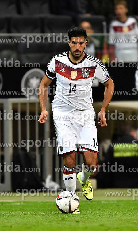 04.09.2015, Commerzbank Arena, Frankfurt, GER, UEFA Euro Qualifikation, Deutschland vs Polen, Gruppe D, im Bild Emre Can (GER) am Ball // during the UEFA EURO 2016 qualifier Group D match between Germany and Poland at the Commerzbank Arena in Frankfurt, Germany on 2015/09/04. EXPA Pictures &copy; 2015, PhotoCredit: EXPA/ Eibner-Pressefoto/ Weber<br /> <br /> *****ATTENTION - OUT of GER*****