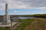 Memorial monument to commemorate the sinking of HMS Iolaire near Stornoway on Lewis. www.scotlandstapestry.com<br /> <br /> pictures by Alex Hewitt