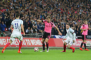 Scotland Midfielder James Morrison during the FIFA World Cup Qualifier group stage match between England and Scotland at Wembley Stadium, London, England on 11 November 2016. Photo by Phil Duncan.