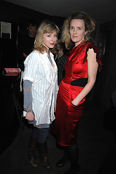 Left to right, ALEXANDRA McGUINNESS and JESSIE RYAN at the launch party of the Cheap Date Guide to Style by Kira Jolliffe and Bay Garnett held at Kabaret's Prophecy,  16-18 Beak Street, London on 15th February 2007.<br /><br />NON EXCLUSIVE - WORLD RIGHTS