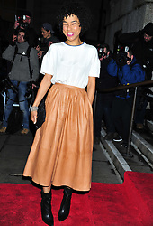 © Licensed to London News Pictures. 06/02/2012.  England.Sophie Okonedo attends the Evening Standard Film Awards at County Hall westminster London Photo credit : ALAN ROXBOROUGH/LNP