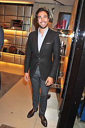 DIEGO BIVERO-VOLPE at a party as part of the Vogue Fashion's Night Out held at Tod's, 2-5 Bond Street, London on 6th September 2012.