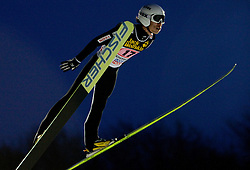 Daiki Ito (JPN) competes during First round of the FIS Ski Jumping World Cup event of the 58th Four Hills ski jumping tournament, on January 6, 2010 in Bischofshofen, Austria. (Photo by Vid Ponikvar / Sportida)