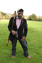 ORLANDO HAMILTON at the Finch & Partners Clay Pigeon Shoot in aid of Battersea Dogs Home at the Holland & Holland Shooting Ground, Ruislip, Middlesex on 17th October 2007.<br />