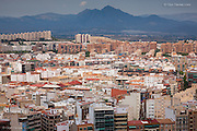 There was a strange beauty in the massive urban sprawl of the hot city of Alicante in Spain, but mostly because of the contrast between it and the towering mountains in the thundery background.<br /> <br /> This image is available in 4 print sizes rangng from the smallest  A4 to the largest A1. All printed using pigment inks on archival cotton rag paper.<br /> <br /> Signed but unlimited<br /> <br /> A4 image = 9x6&quot; on A4<br /> A3 image = 15x10&quot; on A3<br /> <br /> Signed AND Limited Editions<br /> RING FOR DETAILS<br /> <br /> A2 image = 21x14&quot; on A2<br /> A1 image = 28.5x19&quot; on A1