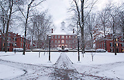 18515Campus winter Buildings Cutler Hall