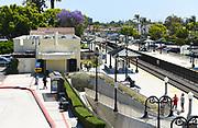 The Orange Transportation Center in Orange California