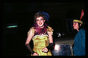 Clovis Meath Baker at Piers Gaveston Ball. Oxford Town Hall. 1981 approx.© Copyright Photograph by Dafydd Jones 66 Stockwell Park Rd. London SW9 0DA Tel 020 7733 0108 www.dafjones.com