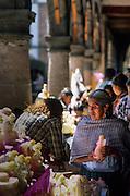 "Day of the Dead celebrations, Patzcuaro. The market sells ""calaveras"", skulls of sugar."