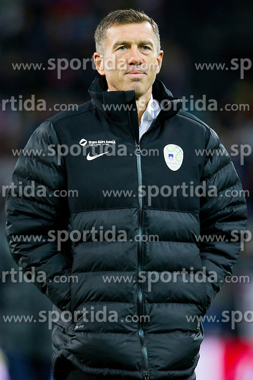 head coach Srecko Katanec (SLO) during the UEFA EURO 2016 Play-off for Final Tournament, Second leg between Slovenia and Ukraine, on November 17, 2015 in Stadium Ljudski vrt, Maribor, Slovenia. Photo by Urban Urbanc / Sportida