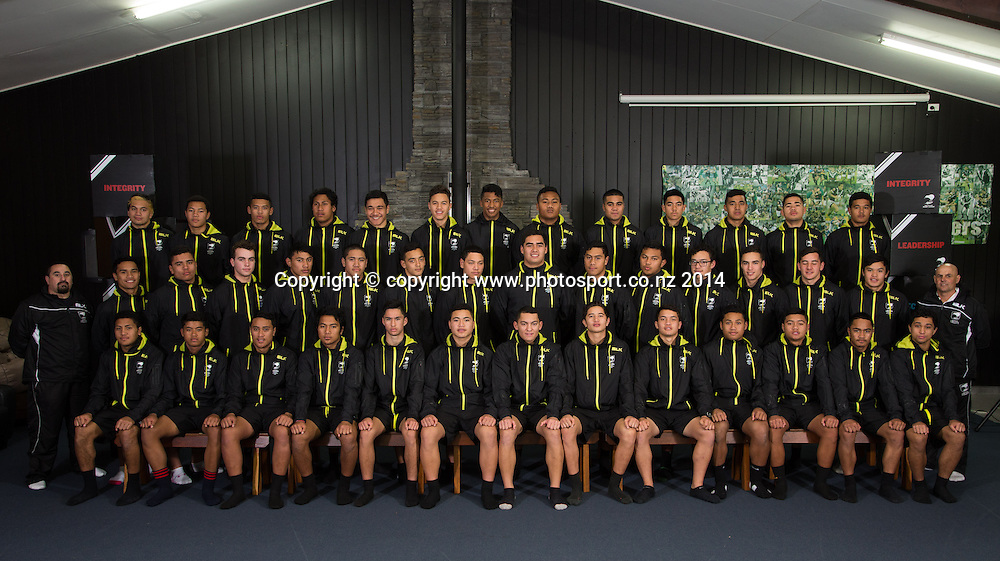 NZRL National Performance Camp U16's, Rotorua, New Zealand. Sunday, 13 July, 2014. Photo: John Cowpland / photosport.co.nz