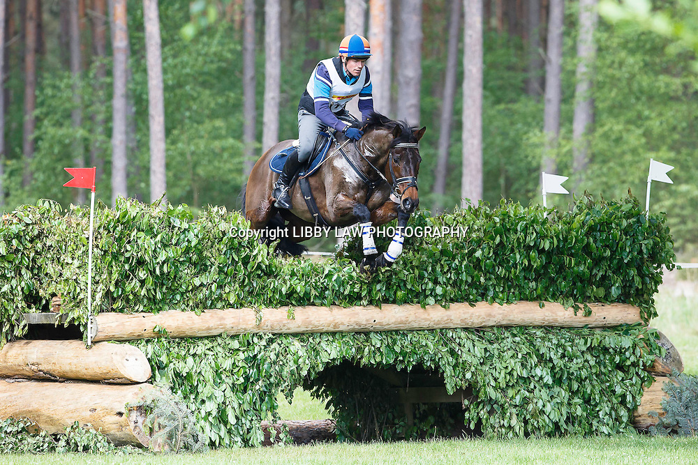 NED-Fraser King (NADAL) RETIRED: CCI4* CROSS COUNTRY: 2015 GER-DHL Luhmühlen CCI4* (Saturday 20 June) CREDIT: Libby Law COPYRIGHT: LIBBY LAW PHOTOGRAPHY