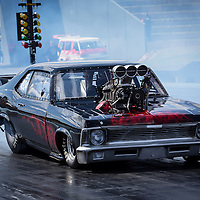 Ben Hoar (4934) in his Chevrolet Nova Supercharged Outlaw.