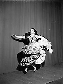 1952 - Teresa, Spanish dancer at the Olympia theatre