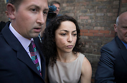© Licensed to London News Pictures. 06/06/2016. Croydon, UK. Former Chelsea FC team doctor EVA CARNEIRO leaves Croydon Employment Tribunal after proceedings were adjourned for the day. Carneiro is claiming constructive dismissal against Chelsea football club when Jose Mourinho was manager. Photo credit: Peter Macdiarmid/LNP