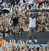 06.JUNE.2010 - LONDON<br /> <br /> FLORENCE AND THE MACHINE AND DIZZIE RASCAL PERFORMING AT THE CAPITAL FM SUMMERTIME BALL AT WEMBLEY STADIUM.<br /> <br /> BYLINE MUST READ: EDBIMAGEARCHIVE.COM<br /> <br /> *THIS IMAGE IS STRICTLY FOR UK NEWSPAPERS AND MAGAZINES ONLY*<br /> *FOR WORLDWIDE SALES AND WEB USE PLEASE CONTACT EDBIMAGEARCHIVE - 0208 954 5968*