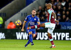 Daniel Drinkwater of Leicester City passes the ball - Mandatory by-line: Robbie Stephenson/JMP - 31/12/2016 - FOOTBALL - King Power Stadium - Leicester, England - Leicester City v West Ham United - Premier League