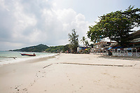 View of Sunrise Beach on Koh Pha Ngan; Thailand