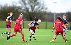Clara Nielson of Bristol Bears Women in action against Harlequins Ladies - Mandatory by-line: Paul Knight/JMP - 01/12/2018 - RUGBY - Shaftesbury Park - Bristol, England - Bristol Bears Women v Harlequins Ladies - Tyrrells Premier 15s