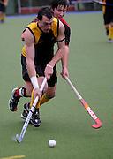 Iain Mcpeake in action for  Capital National Under 21 Hockey Tournament - Day 1, 7 May 2011, Alexander McMillan Hockey Centre Dunedin, New Zealand. Photo: Richard Hood/photosport.co.nz