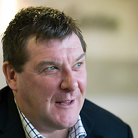 St Johnstone manager Tommy Wright talks to the reporters this morning ahead of Monday's game against Dundee United....23.01.14Picture by Graeme Hart.<br /> Copyright Perthshire Picture Agency<br /> Tel: 01738 623350  Mobile: 07990 594431