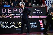 Pianigiani Simone<br /> Openjobmetis Varese - A X Armani Exchange Milano<br /> Openjobmetis Varese - <br /> Basket Serie A LBA 2018/2019<br /> Varese 13 April 2019<br /> Foto Mattia Ozbot / Ciamillo-Castoria
