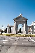 Glorieta de San Vincente Arch, Madrid, Spain