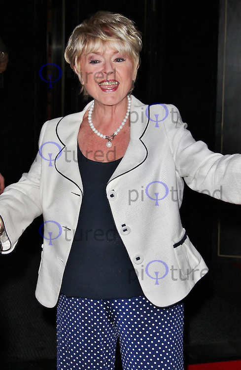 LONDON - July 12: Gloria Hunniford at the ITV Summer Party (Photo by Brett D. Cove)