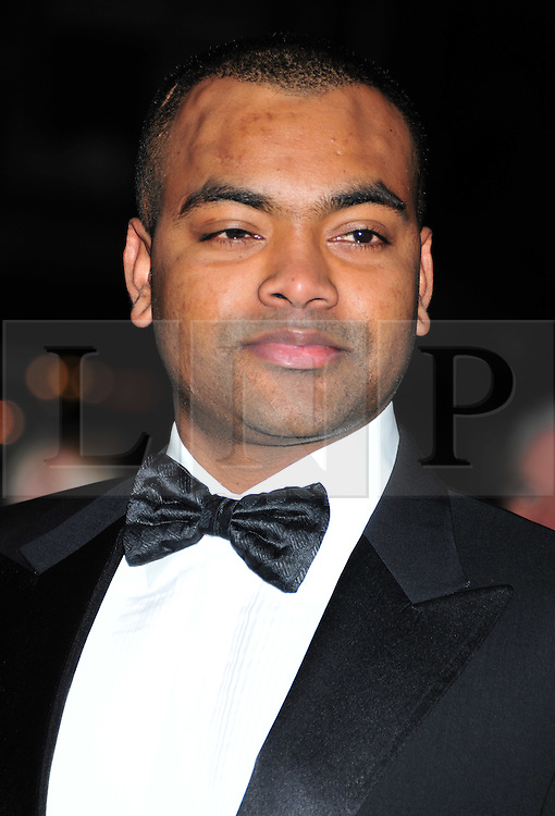 © Licensed to London News Pictures. 18/01/2012. London, England. Corporal Johnson Beharry VC attends the Daily Mail Inspirational Women awards 2012 at the Marriot Grosvenor Hotel London  Photo credit : ALAN ROXBOROUGH/LNP