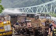 Train Derailment <br /> Sewickley, PA<br /> 07/02/2014