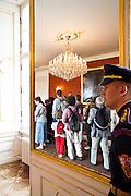 Inside the Czech President's residence, Prague Castle (Pra?ský hrad). Different views from Prague (Praha), the capital of the Czech Republic.  o (Photo: Alan Aubry)