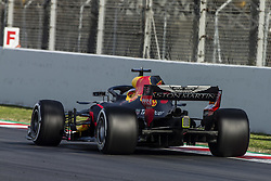 March 9, 2018 - Barcelona, Catalonia, Spain - 03 Daniel Ricciardo from Australia with Aston Martin Red Bull Tag Heuer RB14 during day four of F1 Winter Testing at Circuit de Catalunya on March 9, 2018 in Montmelo, Spain. (Credit Image: © Xavier Bonilla/NurPhoto via ZUMA Press)