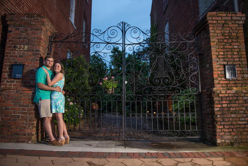 Robbie and Kasi Engagement   New Bern Photographers
