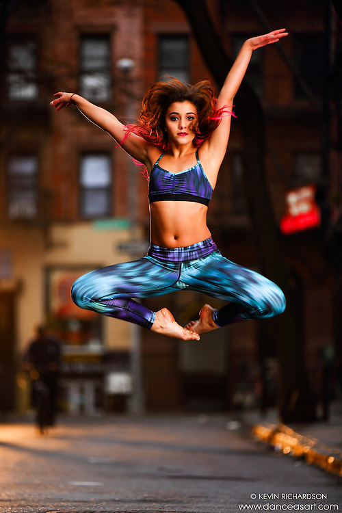 Dance As Art Streets of New York West Village Series with dancer Sarah Botero