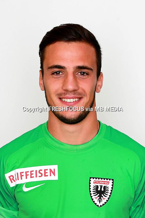 10.07.2014; Aarau; Fussball Super League - Portrait  FC Aarau;<br />Ullise Pelloni (Aarau) (Claudia Minder/freshfocus)