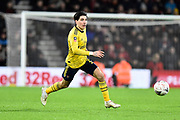 Hector Bellerin (2) of Arsenal on the attack during the The FA Cup match between Bournemouth and Arsenal at the Vitality Stadium, Bournemouth, England on 27 January 2020.