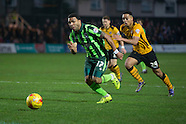 Newport v AFC Wimbledon - League 2 - 19/12/2015