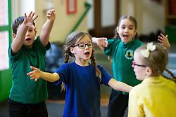 Bristol Sport Foundation School Coaching Sessions - Rogan Thomson/JMP - 23/02/2017 - SPORT - Wansdyke Primary School - Bristol, England.