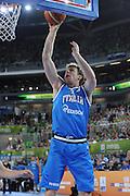 LUBIANA EUROBASKET 2013 12 SETTEMBRE 2013<br /> NAZIONALE ITALIANA MASCHILE<br /> SLOVENIA VS ITALIA<br /> NELLA FOTO: NICOLO MELLI<br /> FOTO CIAMILLO