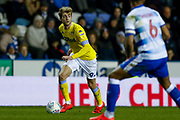 Leeds United forward Patrick Bamford (9) in action  during the EFL Sky Bet Championship match between Reading and Leeds United at the Madejski Stadium, Reading, England on 12 March 2019.