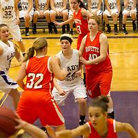 01-28-14 Berryville Jr. High Girls Basketball vs. Gravette