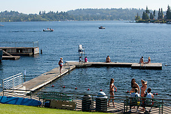 North America, United States, Washington, Bellevue, Chism Beach Park