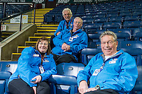 KELOWNA, CANADA - FEBRUARY 27: Volunteers on February 27, 2016 at Prospera Place in Kelowna, British Columbia, Canada.  (Photo by Marissa Baecker/Shoot the Breeze)  *** Local Caption *** Volunteers; ushers;