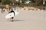 Israel, Herzliya The beach